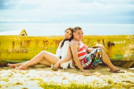 Rainbowfish Cebu Wedding Photographer Photography Philippines Beach Modern VIntage Engagement Photos Pictures