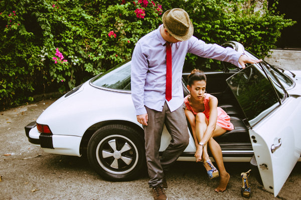 Engagement Pictures with Cars