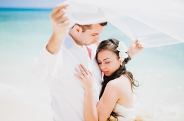 Alegre Beach Resort Engagement Beach Wedding 14