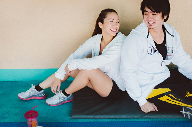 Ken Tetet Boxing Gym Exercise Fitness Engagement Prenup Pictures2