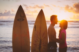 cebu wedding photgrapher rainbowfish photo laid back surf engagement calicoan samar philippines