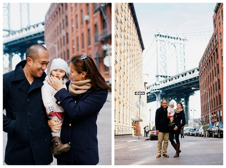 Brooklyn Family Portrait Session New York City DUMBO Bride Park Photographer NYC_0005