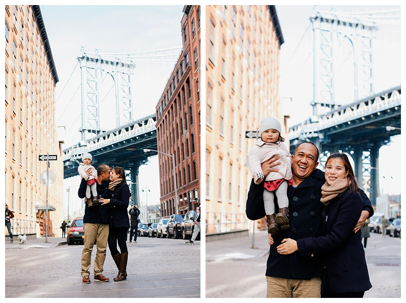 Brooklyn Family Portrait Session New York City DUMBO Bride Park Photographer NYC_0006