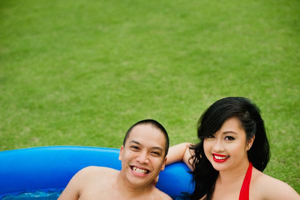 Rainbowfish Vintage Engagement Prenup Shoot Pictorials Bikini Cebu1