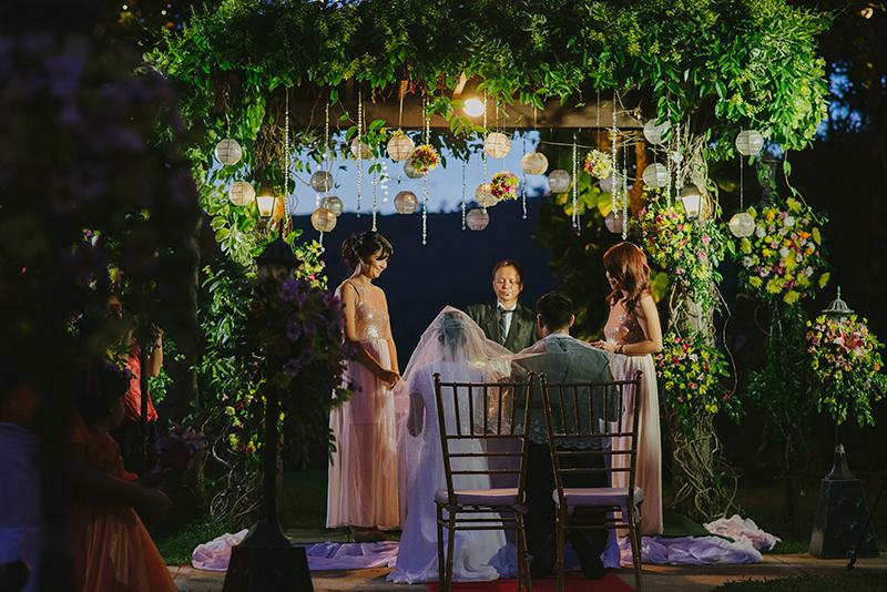 Chateau de Busay Garden Wedding