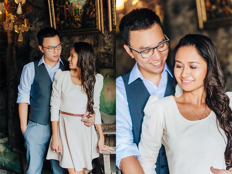 Modern Vintage Filipino Engagement Prenup Ideas Pictures Cebu Wedding 1a