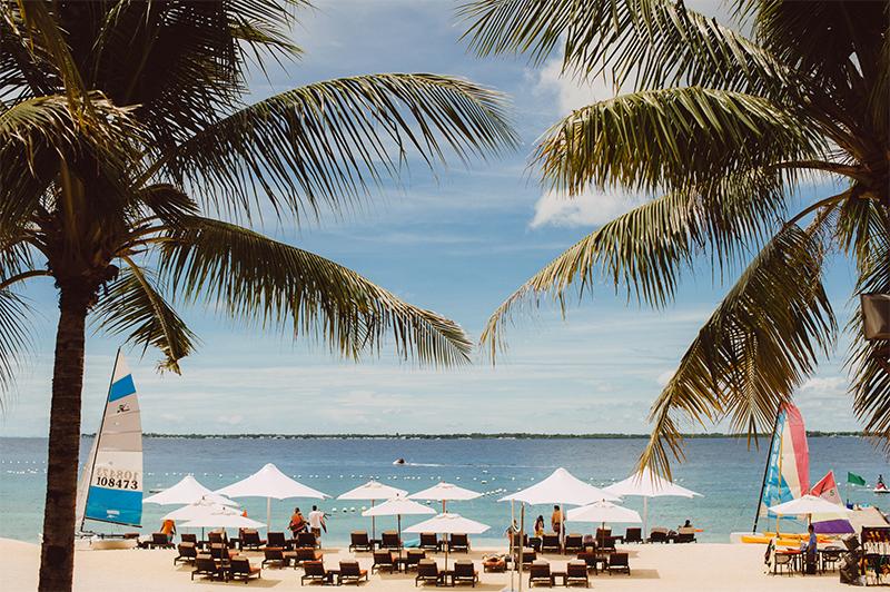Destination Wedding Mactan Cebu Philippines Garden Beach View Crimson Resort 1