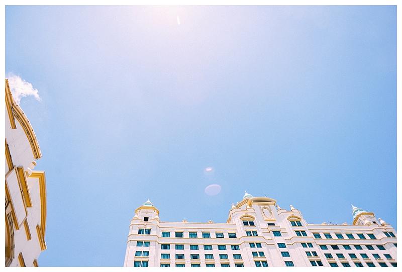 Andre Carmen Lhuillier Elegant Classic White Royal Blue Monique Lhuillier Dress Waterfront Hotel Cebu_0001
