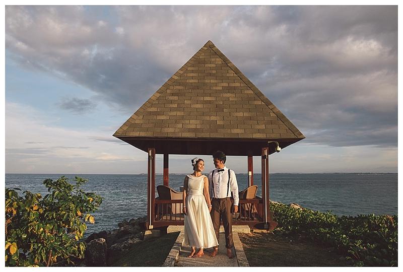 Filipino Cambodian Couple Cebu Shangrila Engagement Pictures