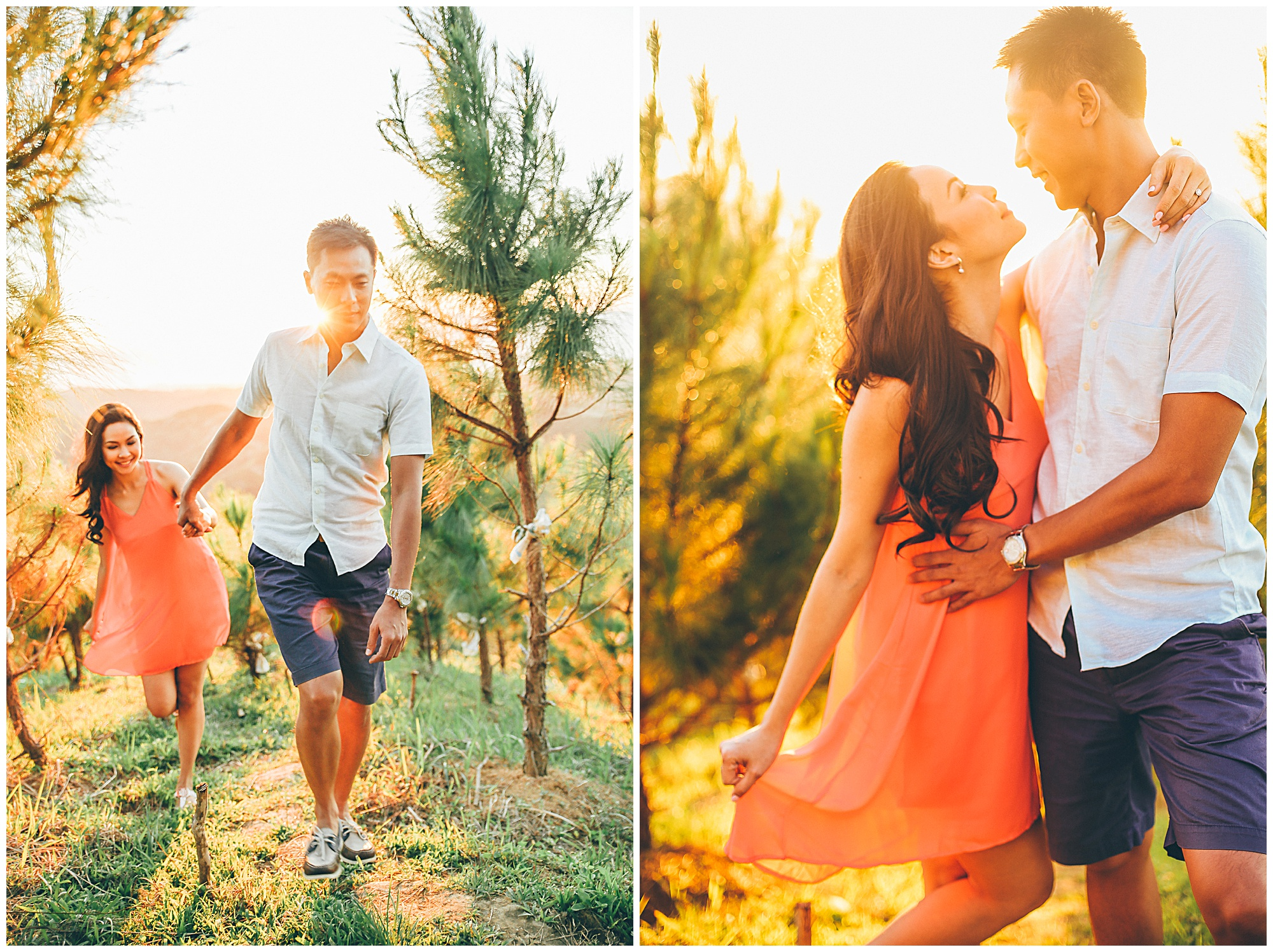 Pine Tree Mountain Busay Mountains Engagement Wedding Photographer Bohol Cebu Philippines_0013