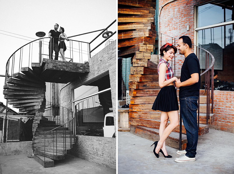 Vintage 50s Engagement Shoot Ideas Gas States Cebu Rafe Racer Philippines_0031